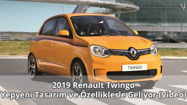 2019 Renault Twingo Özellikleri ve Fiyatı