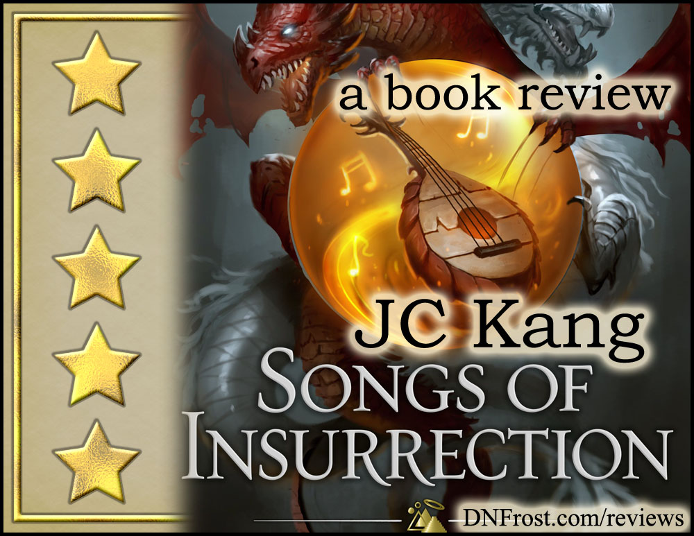 Songs of Insurrection by JC Kang: A unique multicultural fantasy http://www.dnfrost.com/2017/05/songs-of-insurrection-by-jc-kang-book.html A book review by D.N.Frost @DNFrost13 Part 1 of a series.