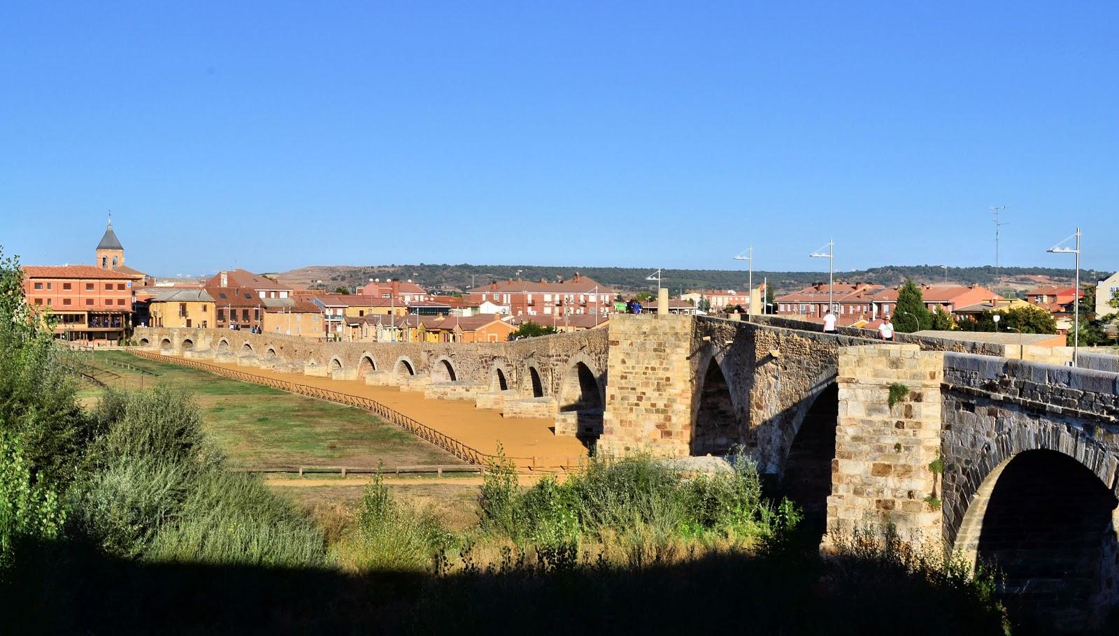 Puente de Orbigo in Hospital de Orbigo was where I began my first day on the Camino.