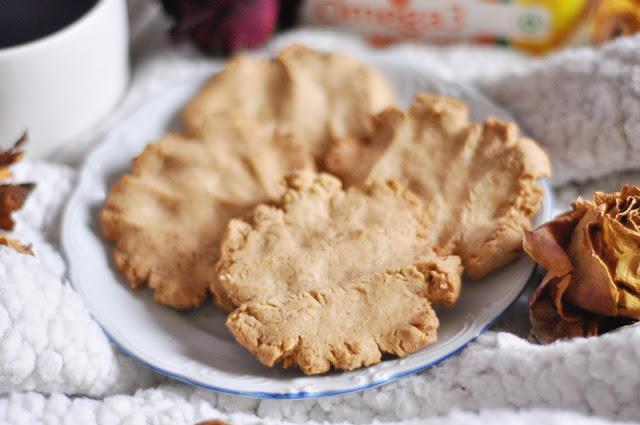 Kruche ciasteczka pełnoziarniste | bez cukru i laktozy | TYLKO 5 SKŁADNIKÓW