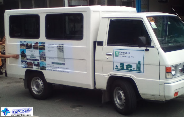 L300 Van Stickers - Eco-Homes Fast Builders