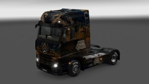 Ship Skin for Mercedes Actros MP4