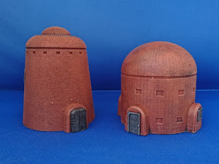 B300-403 – Small Cylindrical Building #1 and B300-408 – Small Cylindrical Building #2