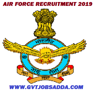 Indian Air force Recruitment 2019-Apply Online For Airmen (Group X & Y) Posts