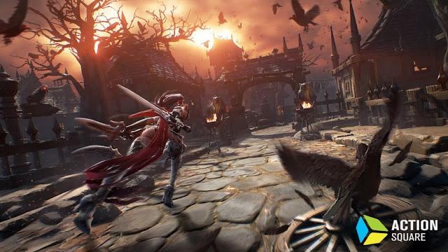 Blade 2 - satu-satunya game Smartphone yang menggunakan unreal engine 4