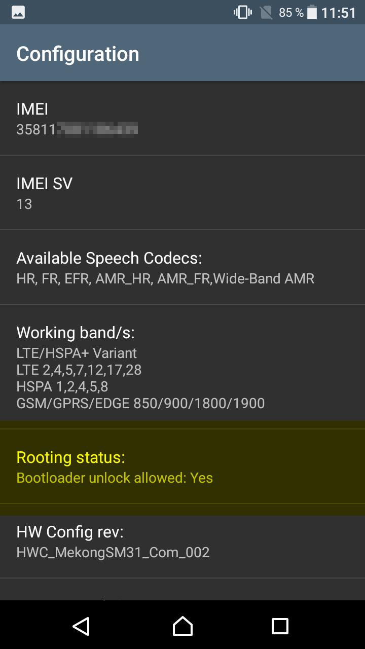 Iceberg Black: Liberar Bootloader en un Sony Xperia L1
