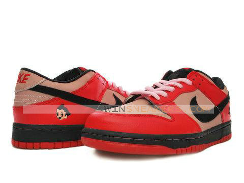 best website 298c1 c018c The astro boy sneakers consists of a red-colored imitation leather-based  that addresses the often area adopted by technique of the dim nike swoosh,  ...