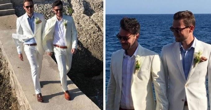 Após nude, Victor Vieira do MasterChef, casa com namorado francês