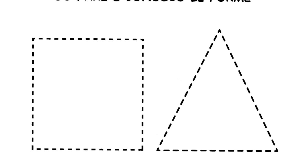 La Maestra Linda Forme Geometriche