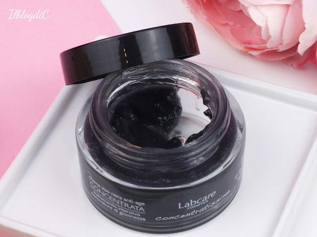 Review della crema viso nera di Labcare