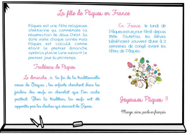 La fête de Pâques - Wielkanoc we Francji - Francuski przy kawie