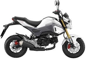 Honda MSX125 white
