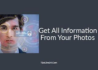 How to get information from any photo