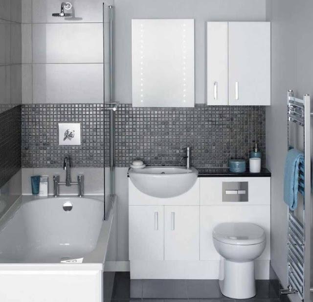 tips menata kamar mandi minimalis