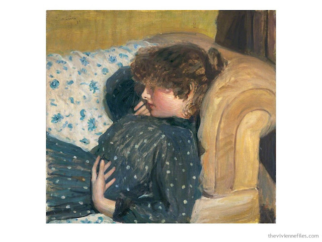 Girl on a Sofa by Philip Wilson Steer