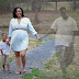 Woman mourns late husband who died two months before her due date in maternity photoshoot
