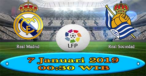 Prediksi Bola855 Real Madrid vs Real Sociedad 7 Januari 2019