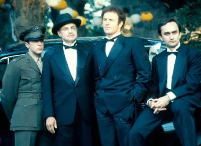 The Godfather Marlon Brando Al Pacino James Caan John Cazale