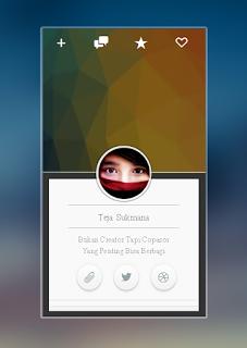 Widget about me Google+ para sidebar
