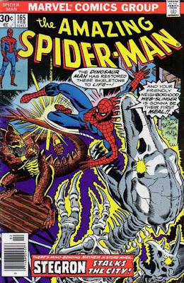 Amazing Spider-Man #165, Stegron the Dinosaur Man
