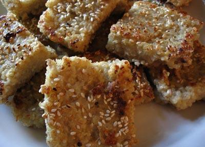 Quinoa-Oat Croquettes