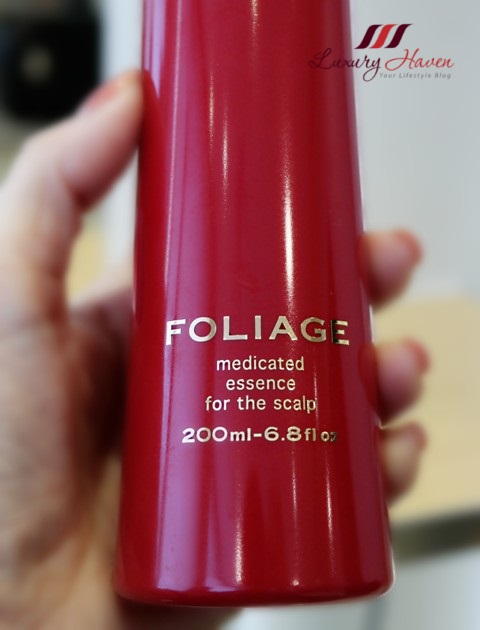 georginas salon nakano foliage medicated essence for scalp