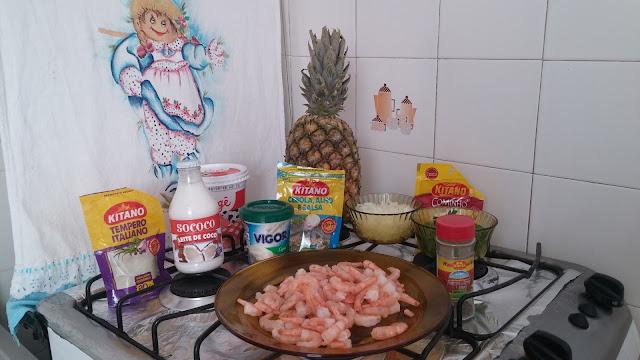 Adika na cozinha | Camarão no Abacaxi