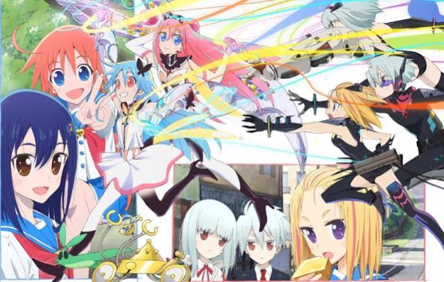 Anime Bagus Underrated  yang Jarang Ditonton/Direkomendasi - Flip Flappers