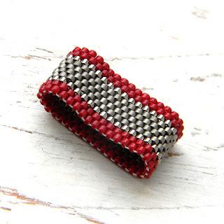 купить кольцо из бисера минимализм украшения из бисера россия