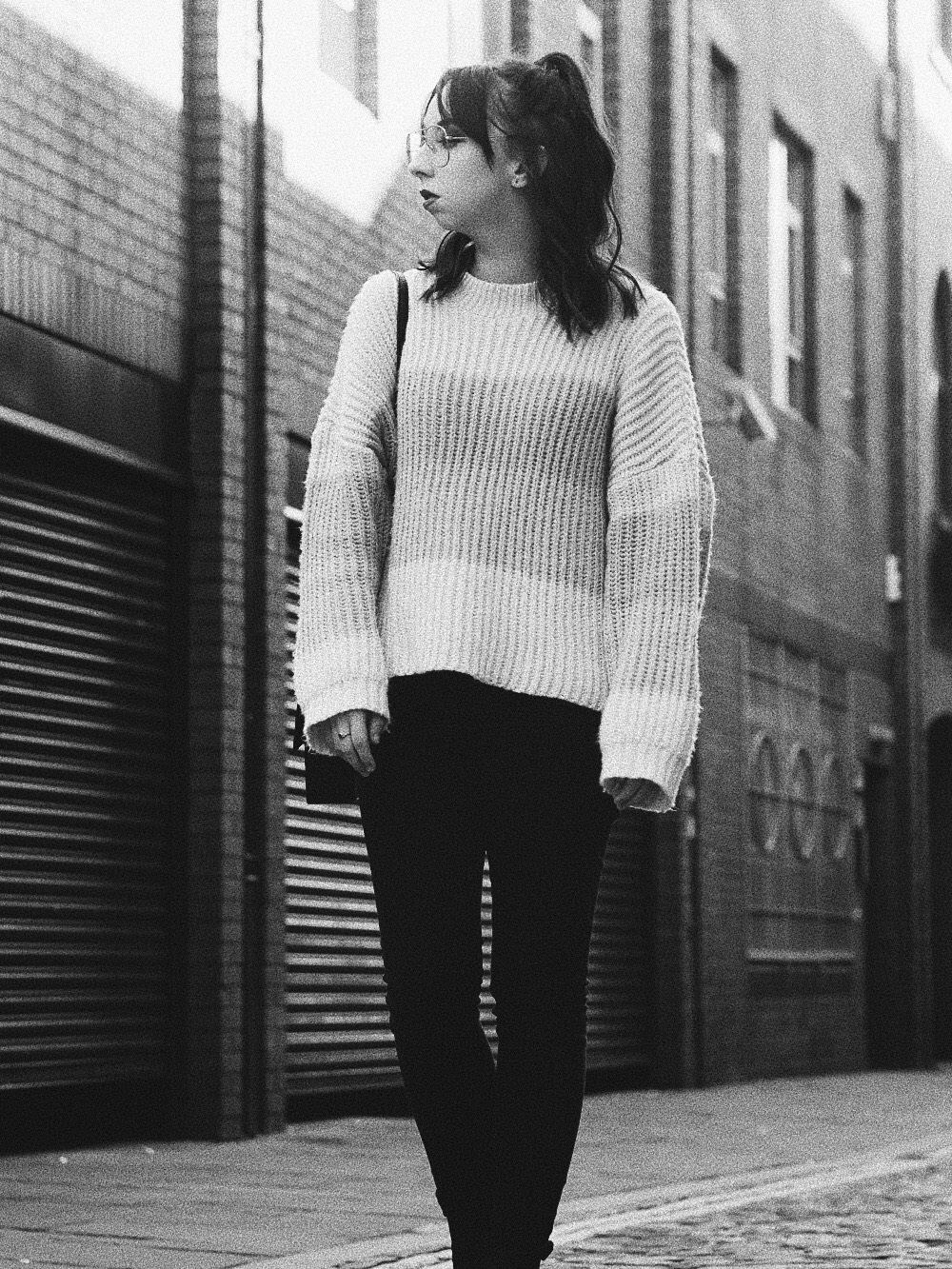 the multi coloured sweater i can't get enough of missguided personal style fashion 6