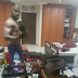 """Your Room Rough o!"" – Banky W Blasted After Posting His Shirtless Pic In His Room"