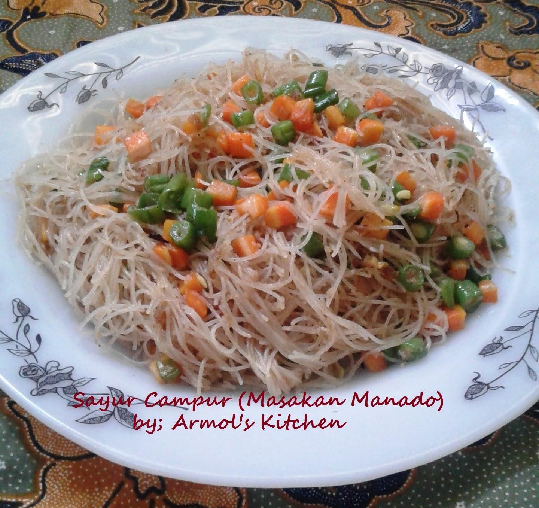 Resep Sayur Campur Manado