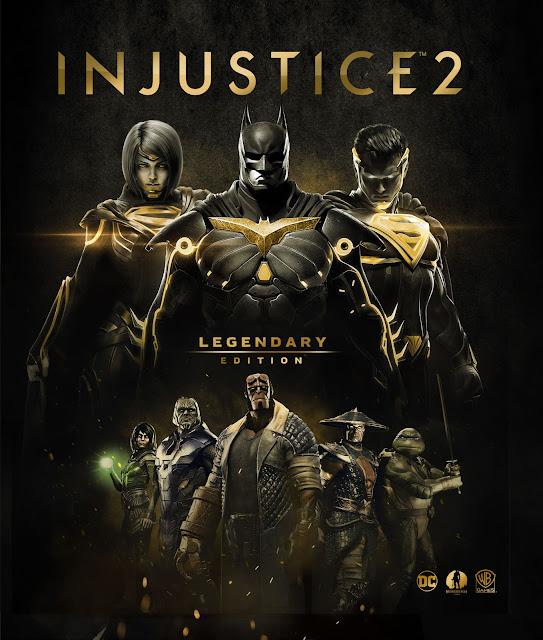 Se anuncia Injustice 2 Legendary Edition con novedades