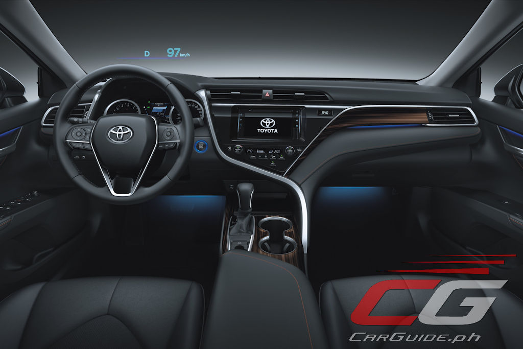 All New Camry 2019 Interior Harga Vellfire Toyota Motor Philippines Launches W 17 Photos Sculpted With The Finest Degree Of Craftsmanship S Roomy Is Aligned Sensual Smart Confidence Design Concept