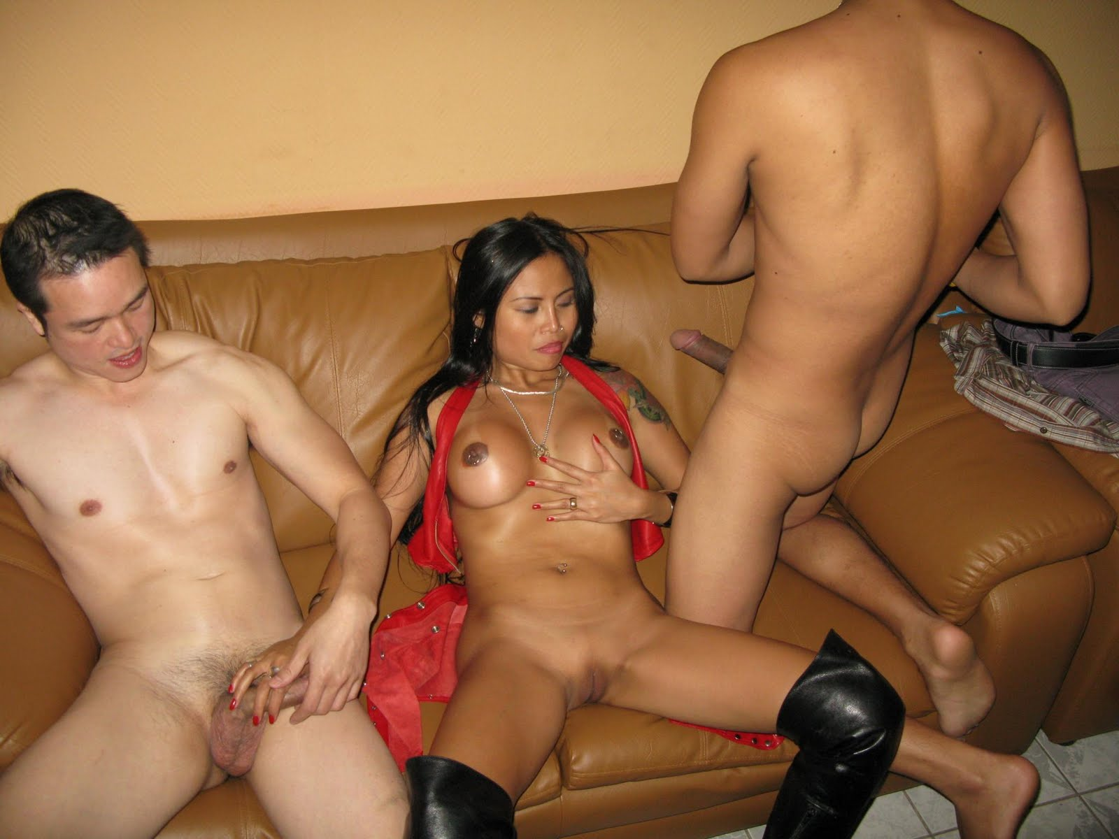 college slut gangbanged by three black cocks