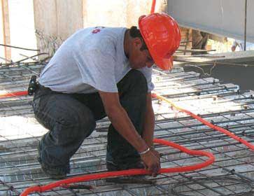 Instalaciones eléctricas residenciales - Tendido de tubería conduit en azotea
