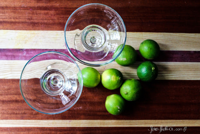 limes waiting to be a margarita