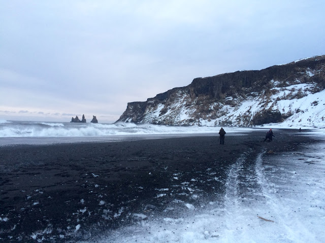 Vík í Mýrdal, Black Sand Beach  Reykjavik Iceland Photo - Bearded Couture