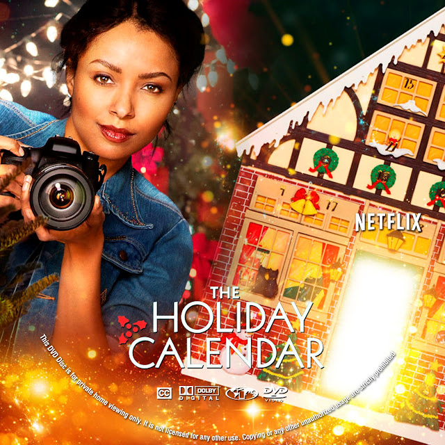 The Holiday Calendar Label Cover