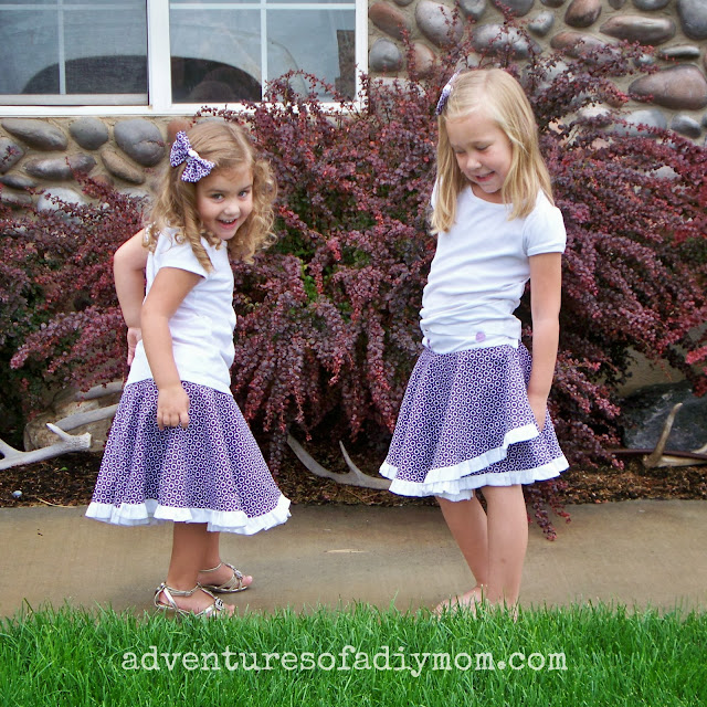 How to Make a Circle Wrap-Around Ruffle Skirt