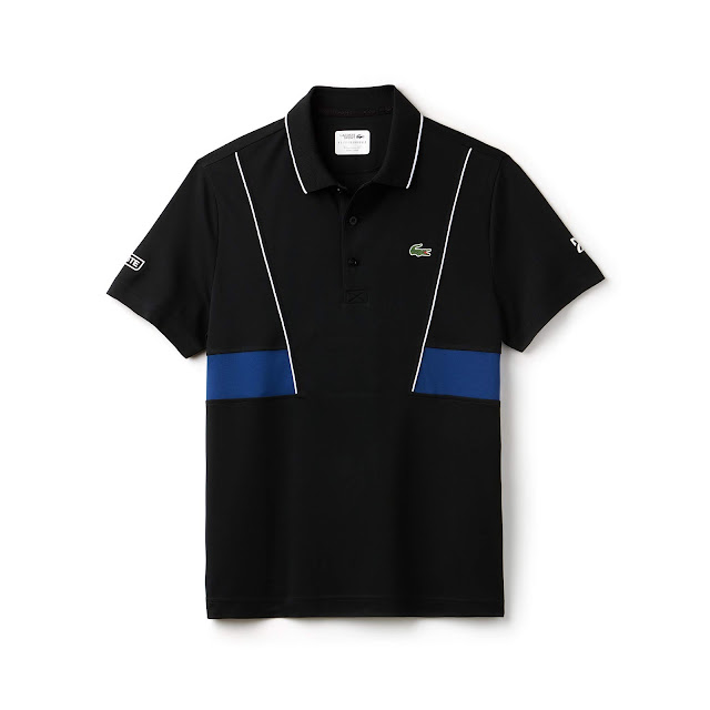 LACOSTE NOVAK DJOKOVIC SS18 MEN ON COURT BLACK EDITION DH3325-52 R$ 390