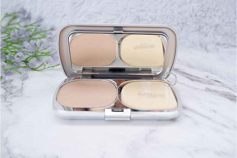 Triple Action Compact Powder