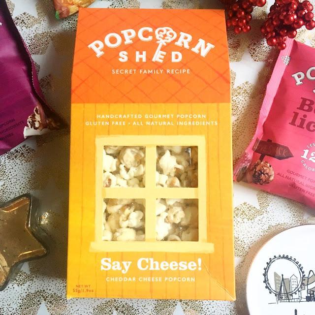 Popcorn Shed Say Cheese Carton