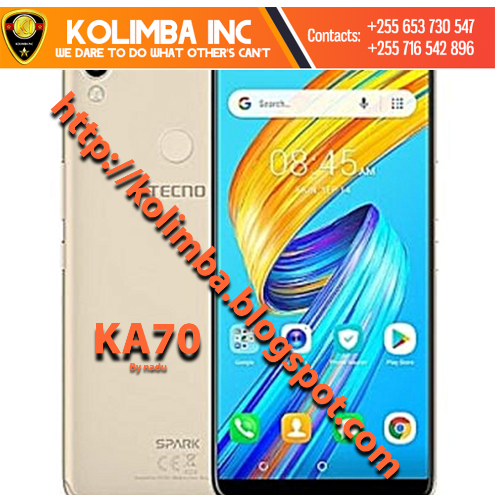 TECNO SPARK 2 { KA7O } FACTORY SIGNED FIRMWARE TESTED AND WORK 100