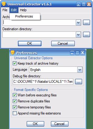 Software universal extractor   Download Universal Extractor