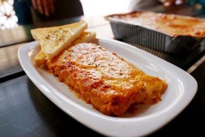 Lasagna at Lasagne Que