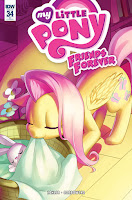 MLP Friends Forever Comic #34 by IDW RI Cover by Low Zi Rong
