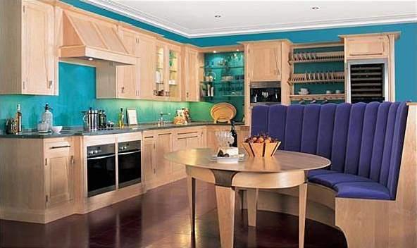 Hogares frescos dise os de cocinas estilo office for Modelo de cocina integrado