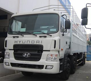 Xe Hyundai HD210, HD270 ben tải nặng. Bán trả góp