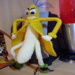 Patron gratis platano amigurumi | Free pattern amigurumi banana
